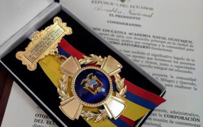 Medalla Conmemorativa por Trayectoria y Excelencia Académica por parte de la Asamblea Nacional
